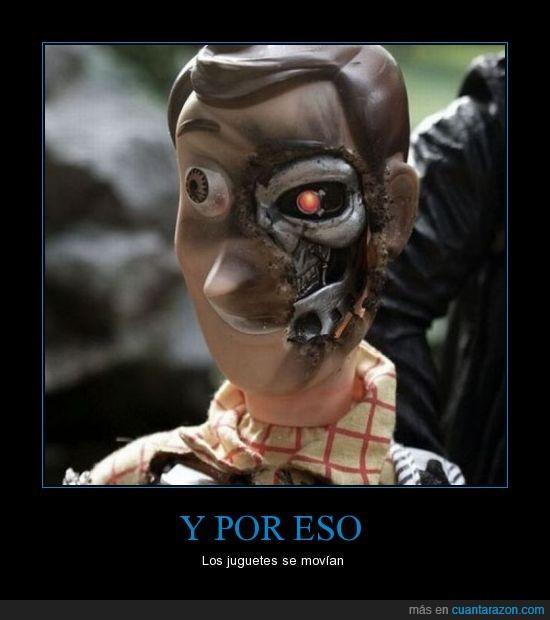 Terminator,Toy Story,Woody