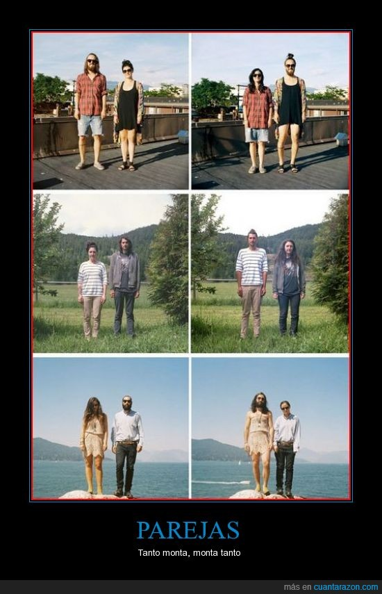 parejas,ropa