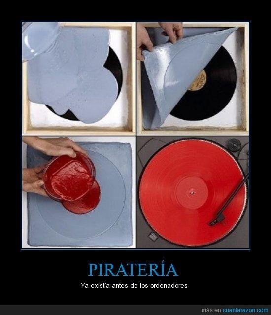 cd,ordenadores,pc,Pirateria,vinilo