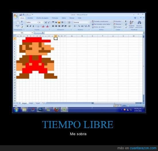 computacion,excel,mario bros,ordenador,pc,windows