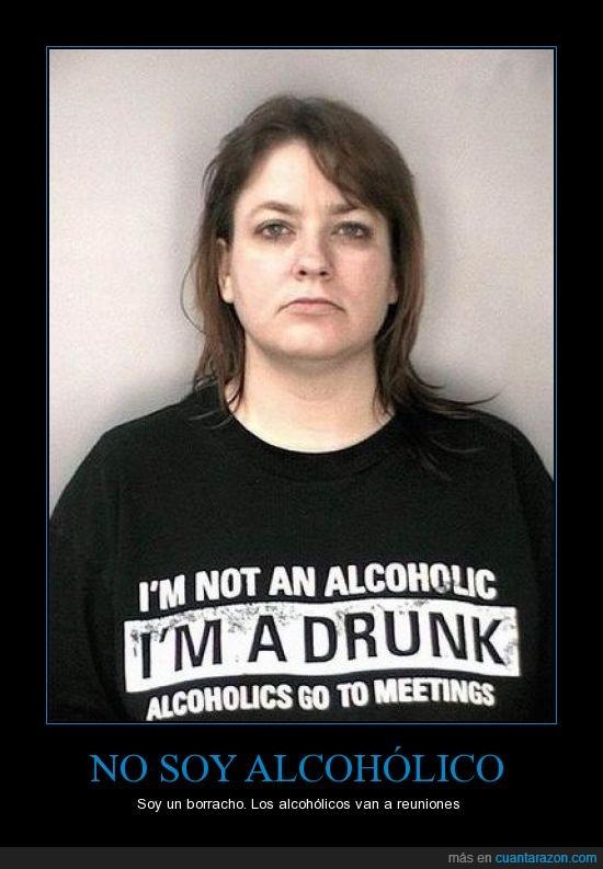 borracho,camiseta,no soy alcohólico,reuniones
