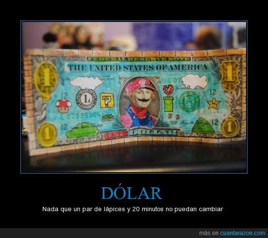 colores,dolar,mario bross