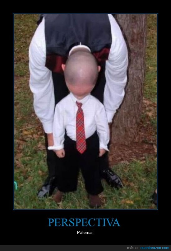 cabeza,hombre,niño,perspectiva