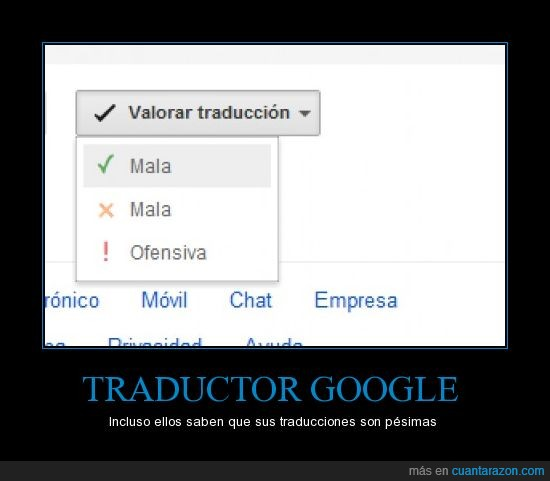 google,malas,traductor