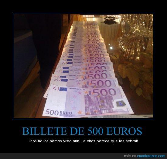 500 euros,billete