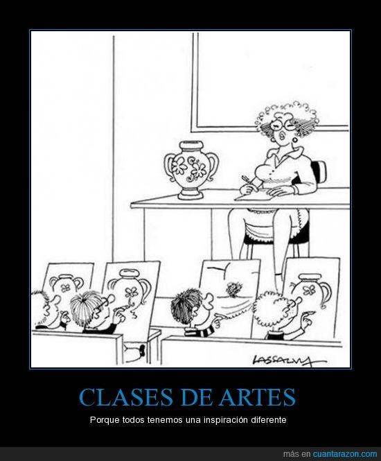 artes,clases,inspiracion