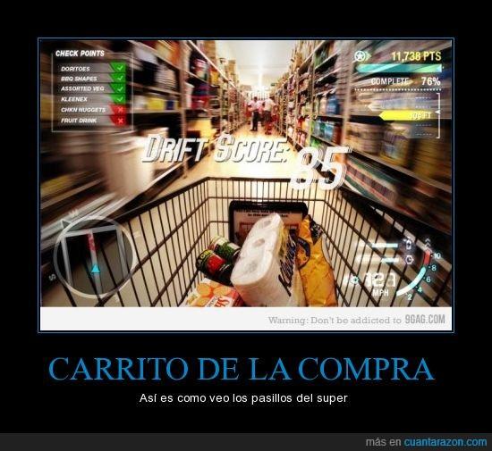 compra,supermercado,videojuego