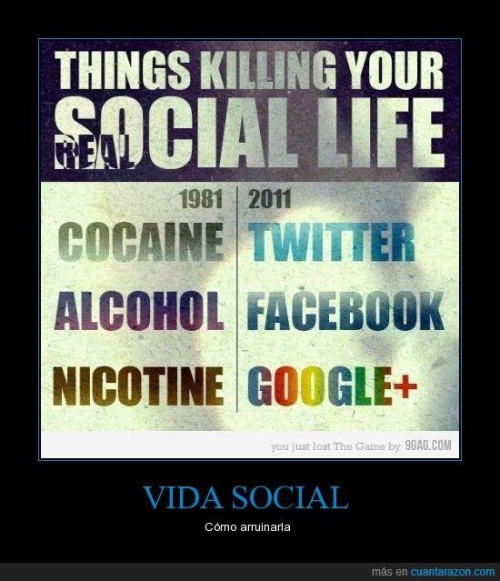 arruinar,cosas,social,vida