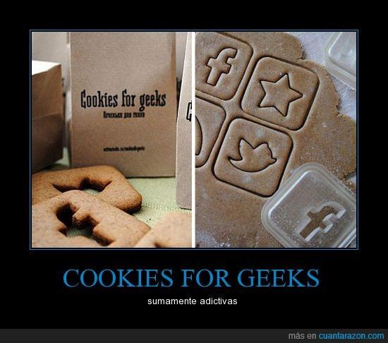 facebook,galletas,geeks,twitter