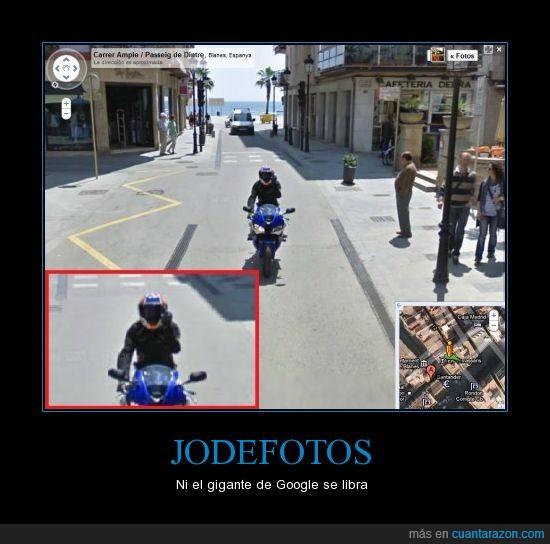 google maps,jodefotos,moto