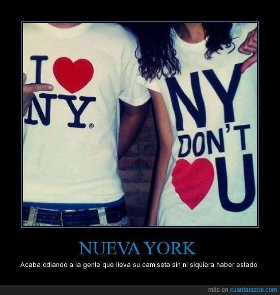 camisetas,Nueva York