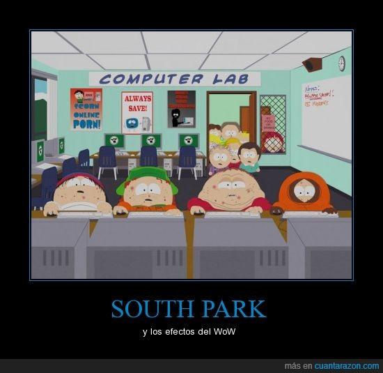 efectos,Park,South,WoW