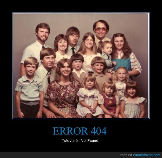 14hijos,Error,Familia,Not Found,Television