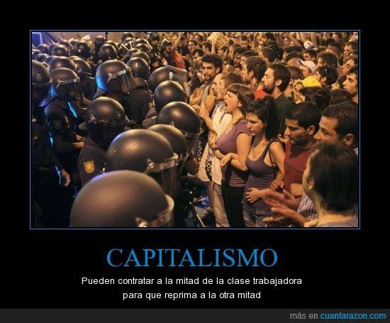 15M,capitalismo,policía,política