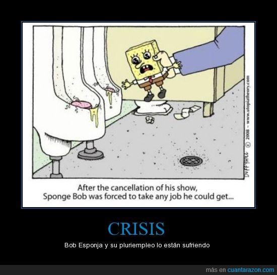 bob sponja,crisis,forzado,trabajo