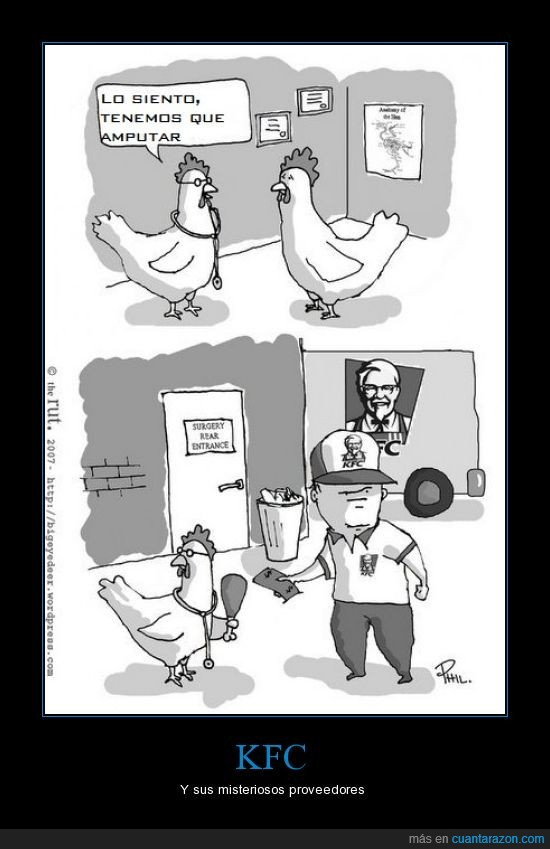 Kentucky,KFC,pollo,proveedor