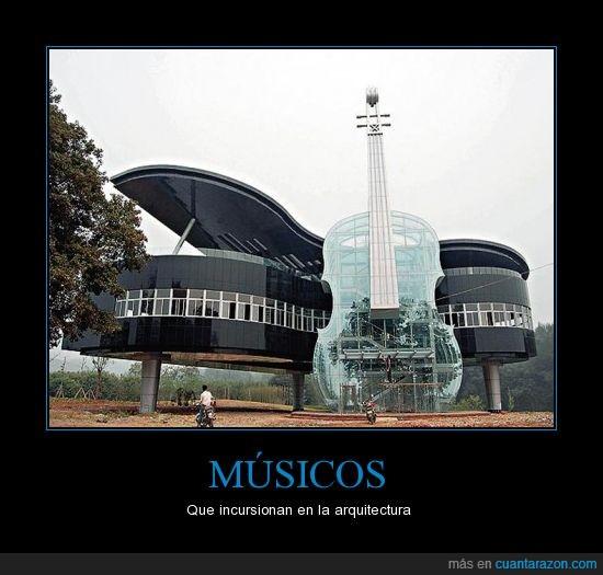 arquitectos,musica