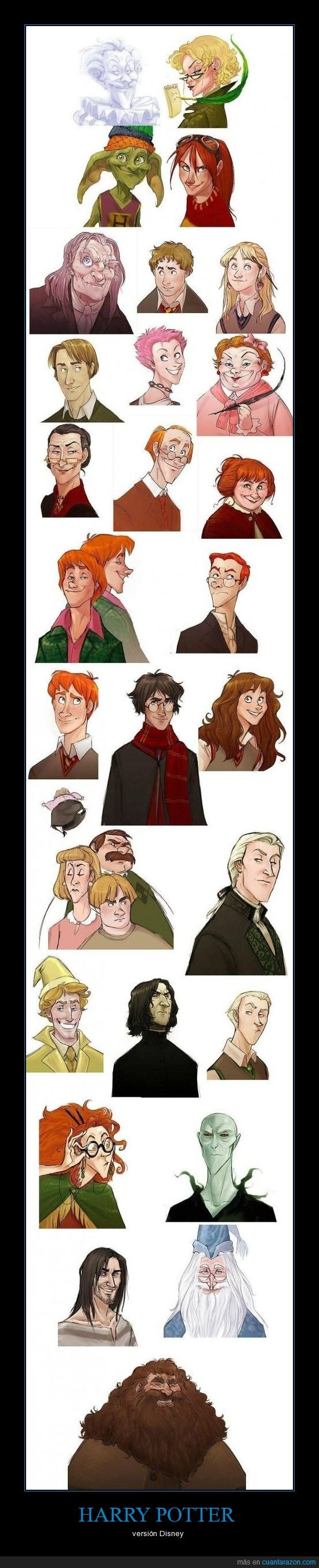 disney,harry potter