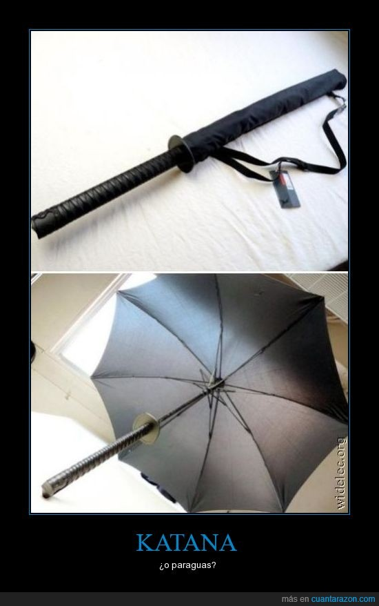 espada,katana,paraguas