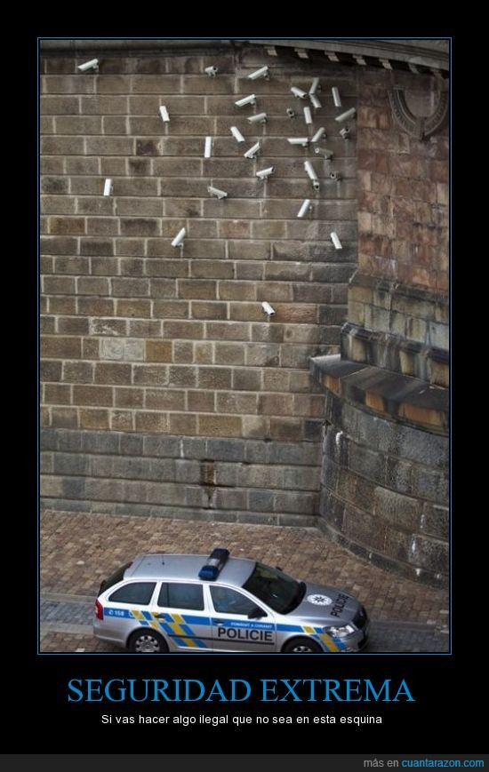 camara,esquina,extremo,policia,seguridad,vigilancia