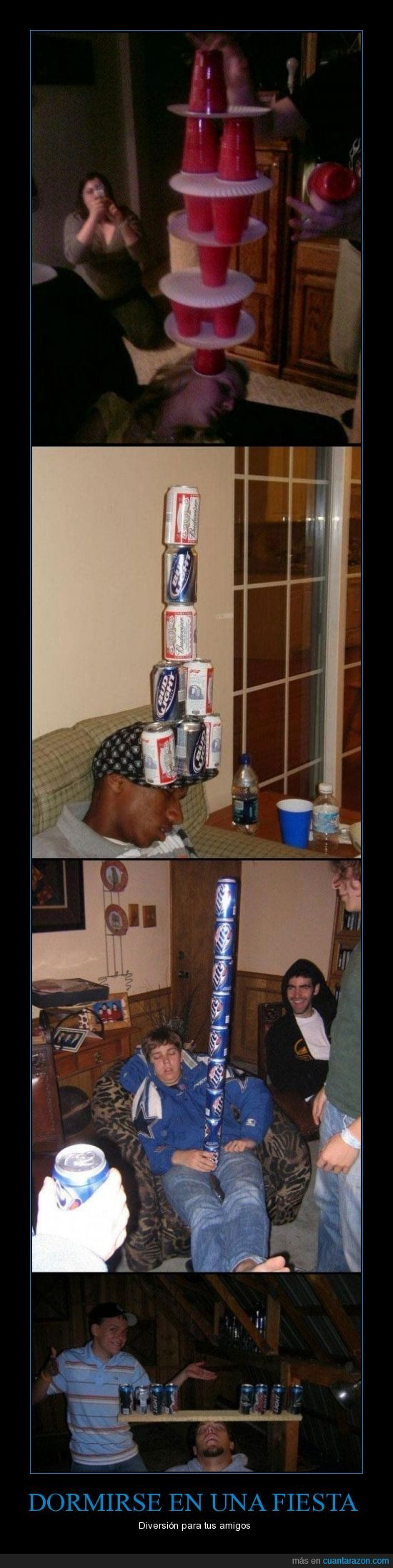 borrachos,fiesta,latas