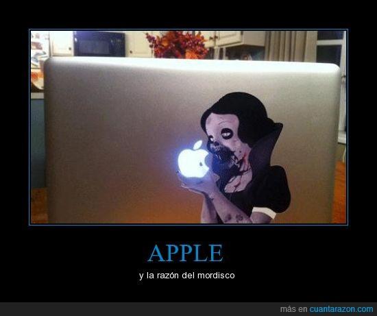 apple,blancanieves,cara