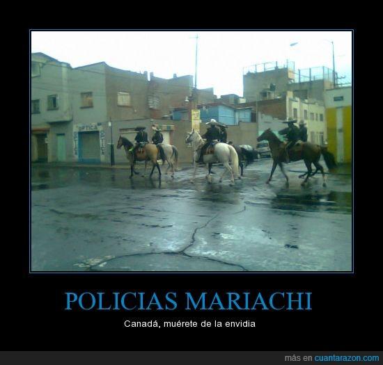 canada,mariachi,mexico,policia