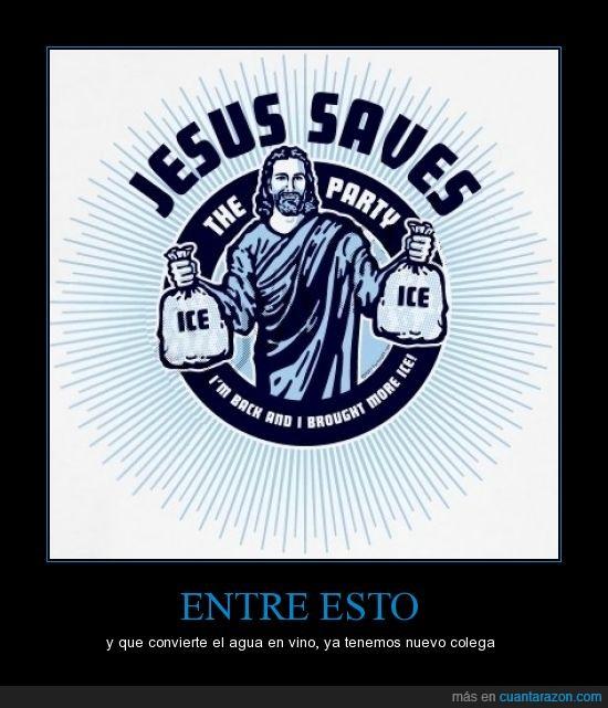 fiesta,hielo,jesus,salva