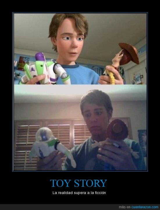 realidad,toy story,woody
