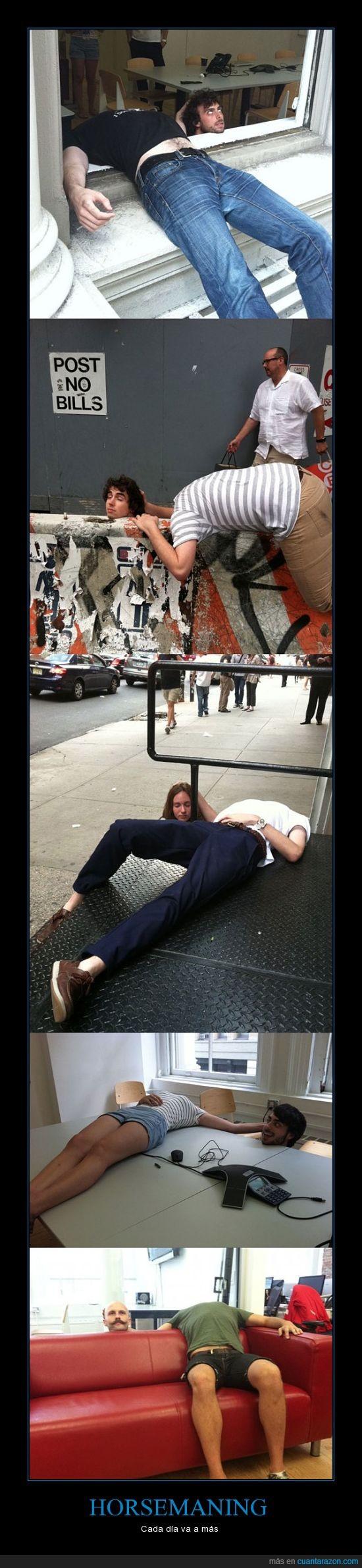 horsemaning,planking