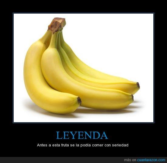 banana,plátano,seriedad