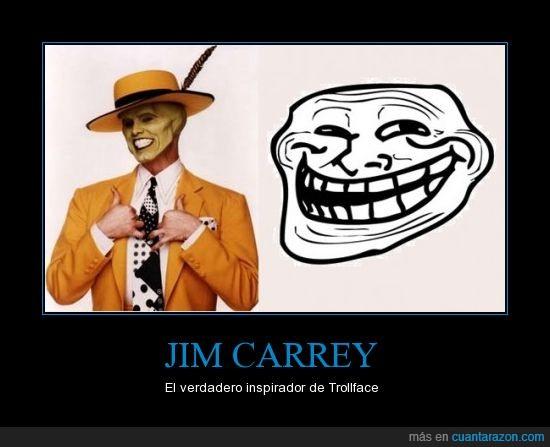 Jim Carrey,la máscara,trollface