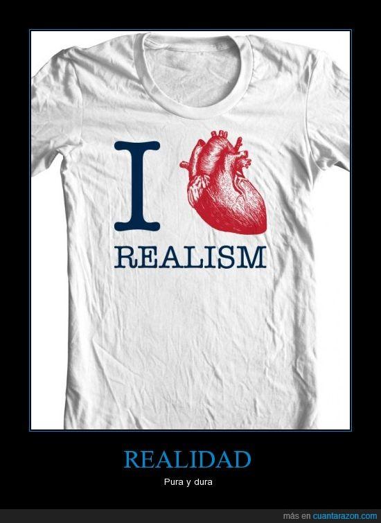 camiseta,corazón,realismo