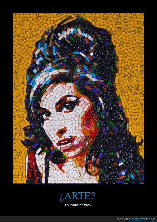 Amy Winehouse,Arte,Pastillas