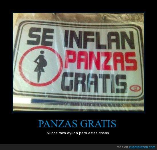 barrigas,embarazada,gratis,inflar