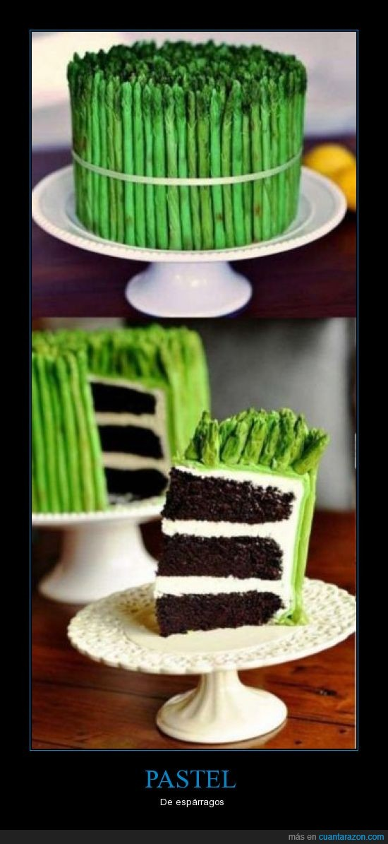 esparragos,pastel,pasteles