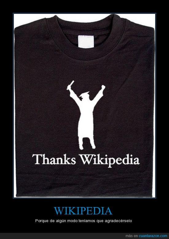 camiseta,gracias,graduacion,wikipedia