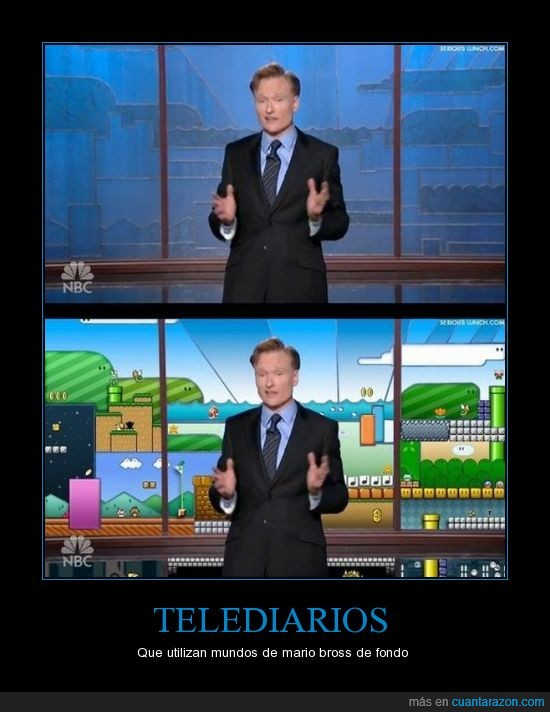 fondo,Mario bross,Noticiero