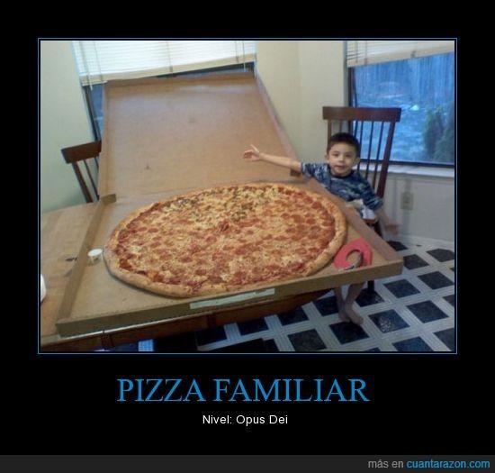 grande,opus dei,pizza