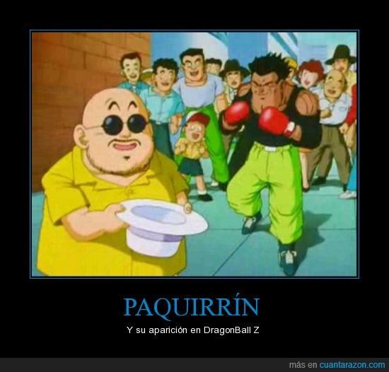 Dragon Ball,Paquirrín