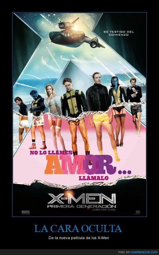 amor,calzoncillos,cine,heroes,X-men