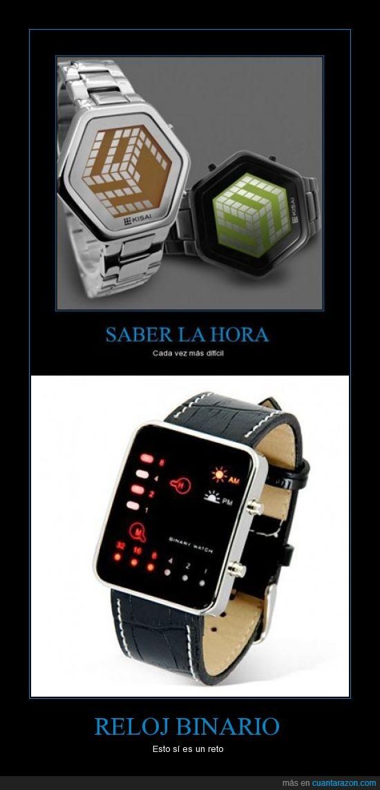 dificil,geek,reloj