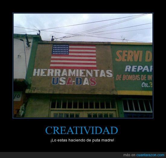 creatividad,estados unidos,herramientas,tienda,usadas