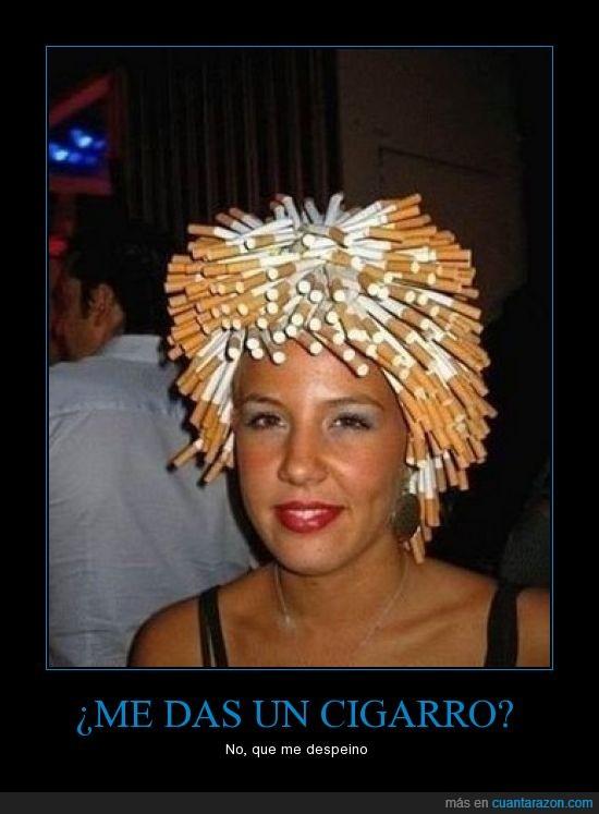 cigarro,insólito,muchos,pelo,tabaco