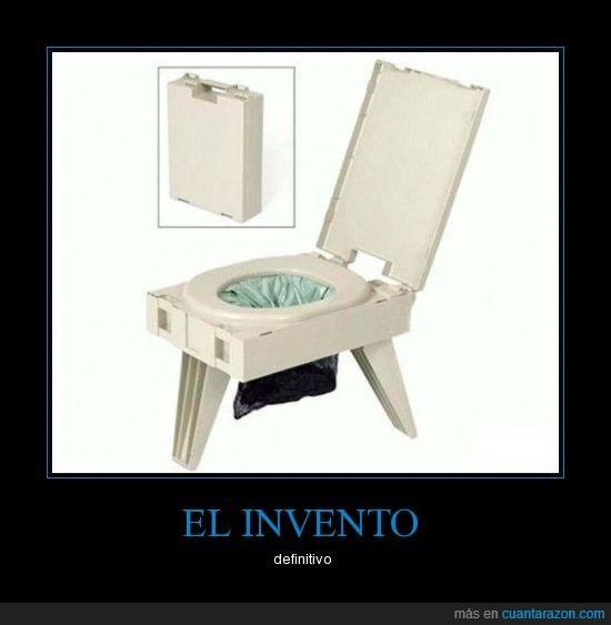definitivo,invento,váter,WC portatil