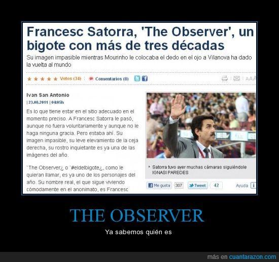 bigote,francesc satorra,the observer