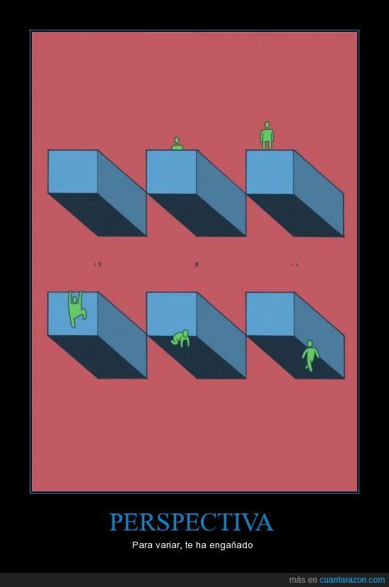 bicho verde,efecto óptico,perspectiva,tumblr