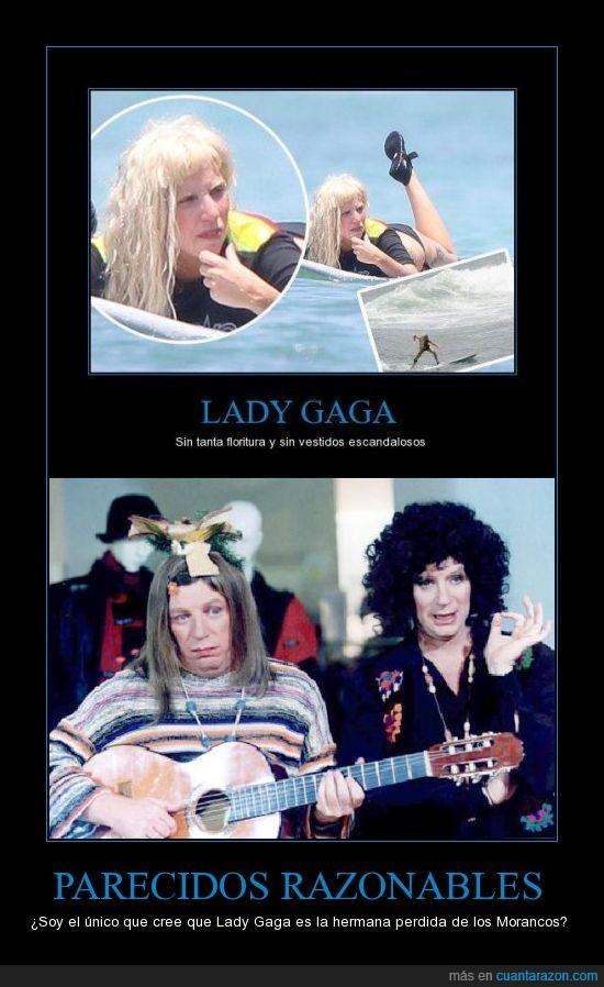 Lady Gaga,Morancos,parecido