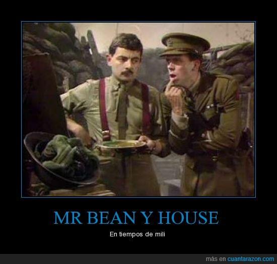 blackadder,house,mr bean