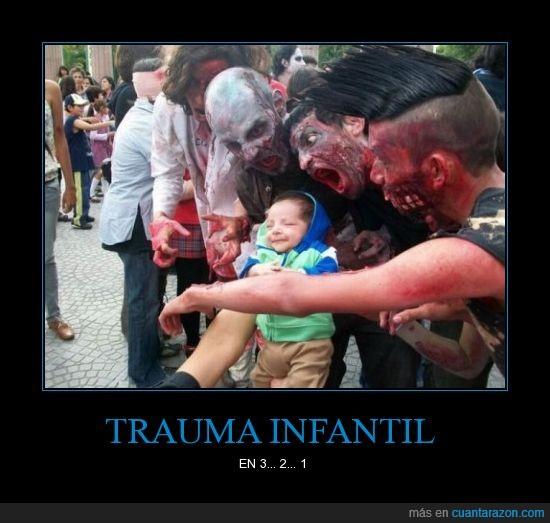 miedo,niño,susto,trauma,zombies